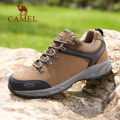 骆驼户外登山鞋女防泼水防滑徒步鞋耐磨爬山鞋跑步鞋男户外运动鞋