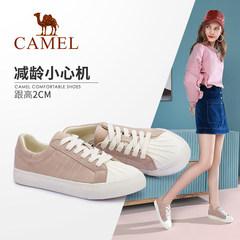 Camel/骆驼2019秋季新款小白鞋百搭板鞋女秋新款韩版学生帆布鞋女