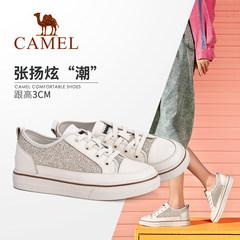 骆驼女鞋2019秋季新款 韩版潮流个性学生板鞋潮鞋休闲舒适鞋女
