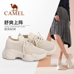 Camel/骆驼2019秋季新款舒适透气运动鞋女潮鞋老爹鞋时尚休闲鞋女