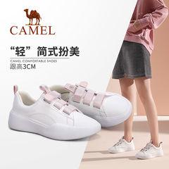 Camel/骆驼2019秋季新款休闲简约鞋女潮流百搭板鞋女防滑小白鞋女