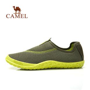 骆驼户外男款徒步休闲鞋 2014年新款网面透气网鞋户外鞋412330003