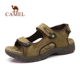 骆驼男凉鞋 2014新款沙滩鞋凉鞋 男款日常休闲凉鞋正品422307005