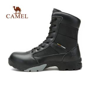 骆驼户外高帮登山鞋 2014秋冬新款正品极耐磨防滑登山鞋子 正品