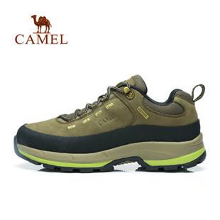 骆驼户外登山鞋 男款正品低帮减震 徒步登山鞋户外鞋A432395045