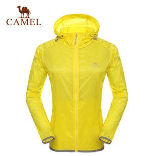 骆驼户外皮肤衣 2014年春夏款 透气防紫外线女款皮肤衣A4S194003