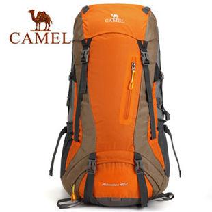 骆驼户外2014新款双肩登山背包 双肩登山包男女款野营包A4S2C3005