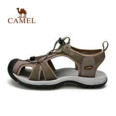 CAMEL骆驼户外沙滩鞋 春夏新款男士透气防滑凉鞋 耐磨轻便沙滩鞋