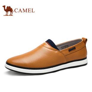 聚Camel 骆驼男鞋 2015夏季新款休闲透气皮鞋青春潮流韩版男鞋
