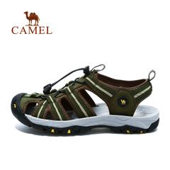 CAMEL骆驼户外男款沙滩鞋 2015春夏新款耐磨轻便凉鞋猪笼鞋沙滩鞋