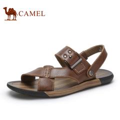 Camel 骆驼男鞋 青春潮流复古潮凉鞋 2015夏季新款日常休闲凉鞋
