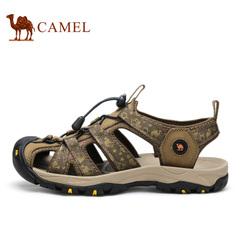 Camel 骆驼凉鞋户外沙滩凉鞋防撞鞋头2015新款凉鞋 男 舒适透气