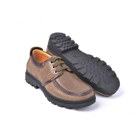 骆驼男鞋camel-1550211-时尚潮流商务休闲男鞋浅啡色