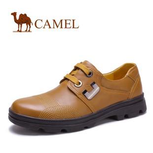 【断码清仓】camel 骆驼 商务必备商务休闲男鞋 舒适板鞋