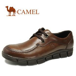 【品牌特卖】 CAMEL骆驼 正品男鞋 舒适商务休闲鞋 皮鞋2010033
