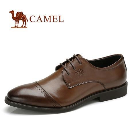 骆驼品牌camel舒适商务正装男鞋