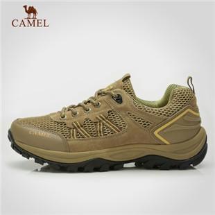 骆驼户外 低帮徒步鞋 男 透气网鞋 户外徒步鞋 A82330623
