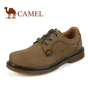 美国骆驼 正品 男 鞋休闲鞋 真皮登山鞋 户外男鞋1580016升级版