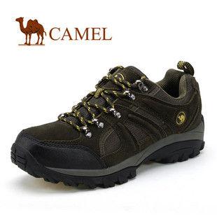 CAMEL美国骆驼 1650086男士登山鞋 正品 户外运动休闲登山男鞋