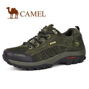 CAMEL美国骆驼 正品 户外登山鞋 舒适休闲男鞋 徒步鞋1660026