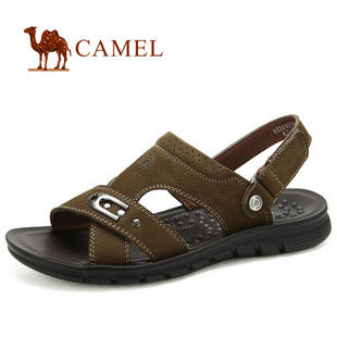 camel 骆驼 男鞋 2012夏季新款 清凉男款休闲凉鞋 82241601