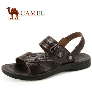 camel 骆驼 男鞋 平底舒适 休闲凉拖两用男款沙滩82278600