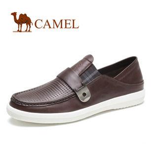 CAMEL骆驼 男 鞋 2012新款商务休闲鞋 套脚透气休闲鞋 男 2001141
