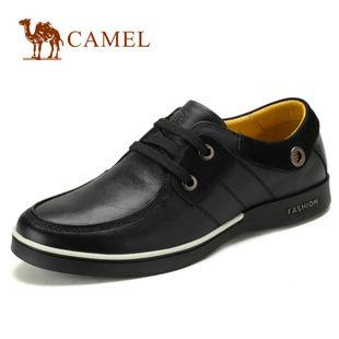 camel 骆驼男鞋 商务休闲鞋 男 鞋休闲鞋日常 休闲真皮2010031