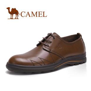 CAMEL骆驼 男鞋 正品 商务休闲鞋 正装 皮鞋 休闲男鞋 2013155