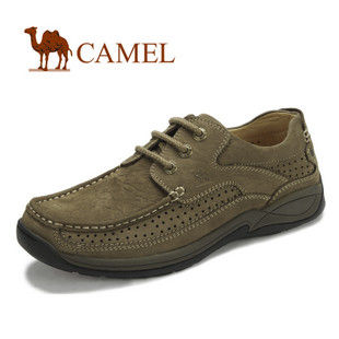 camel 骆驼 男鞋 2012新款 牛皮 休闲鞋 日常休闲男鞋 2066056