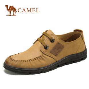 camel 骆驼 男鞋 2012新款 真皮头层时尚日常休闲鞋2155070