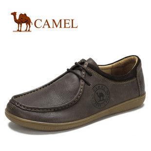 camel 骆驼 舒雅简约 真皮日常休闲鞋 2012春款 情侣款 2302036