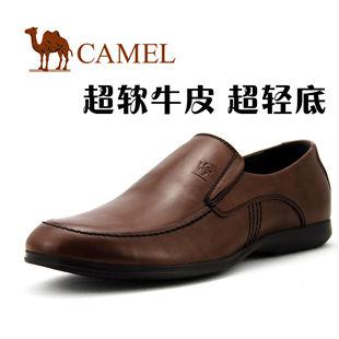 CAMEL美国骆驼 休闲鞋 男 全牛皮商务休闲鞋 男鞋 0433365