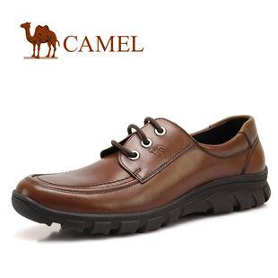 2011新款 美国骆驼 0433635正品 男 鞋休闲鞋 真皮系带 休闲男鞋 男