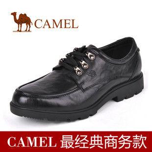 CAMEL美国骆驼男鞋0870115 头层软面皮舒适城市商务休闲皮鞋