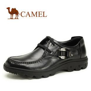 都市奢华 CAMEL骆驼 正品 简约时尚商务正装牛皮男鞋 2033018