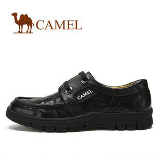 camel 骆驼 男鞋 2012新款 真皮头层商务休闲鞋日常休鞋2033050