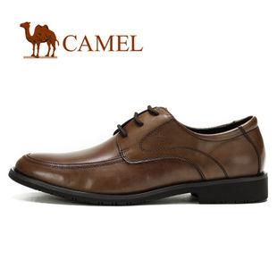 2012新品!CAMEL骆驼 男鞋 优雅魅力商务正装皮鞋 低帮鞋2043007