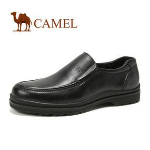 CAMEL骆驼 男鞋 简约尊贵时尚 商务男士皮鞋 大码鞋2012新款 2043013