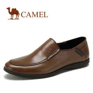 camel 骆驼 男鞋 经典品味 真皮商务休闲鞋 日常休闲鞋 2043048