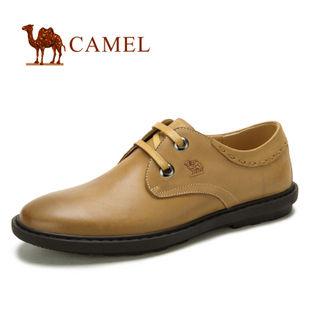 camel 骆驼 新款 男鞋 真皮头层皮商务休闲鞋 2043602