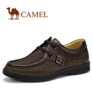 camel 骆驼 男鞋 舒适时尚 品味非凡 真皮日常休闲鞋 2060026