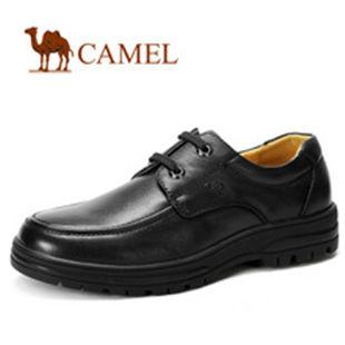 CAMEL骆驼 男鞋 真皮商务休闲 正装男士皮鞋2011秋冬新款2223031