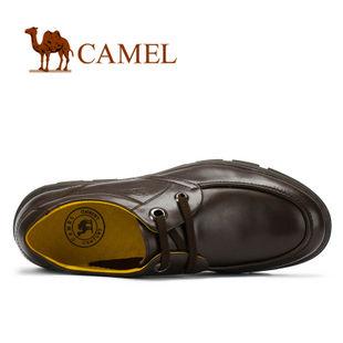 camel 骆驼 2012新款 男鞋 真皮系带商务休闲鞋 2223600