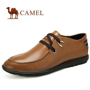 2012新款camel 骆驼 男鞋 真皮 商务休闲鞋 日常休闲鞋82168600