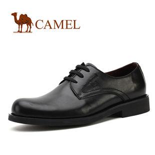 CAMEL美国骆驼 正装皮鞋 系带男鞋 头层牛皮商务休闲鞋0050381