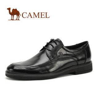 CAMEL 美国骆驼 男鞋 时尚绅士商务真皮正装皮鞋 大码鞋0295261