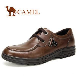 CAMEL骆驼 男鞋 超质感 商务正装 日常 休闲皮鞋2033033