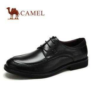 camel 骆驼 男鞋 真皮 商务休闲男士正装皮鞋82190602