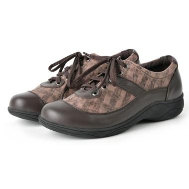 骆驼女鞋camel-369521-头层牛皮复古潮流真皮休闲女鞋咖啡色